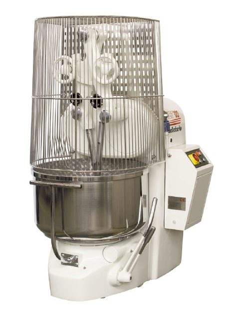 Pietroberto Ibt 120 Double Arm Mixer With Removable Bowl